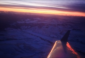 Above Wyoming