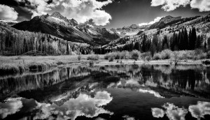 Mt Sneffels reflection