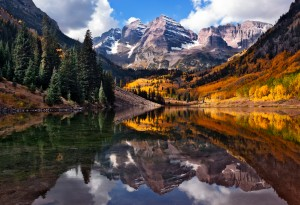 Maroon Bells, 2011/10/2 10:44am